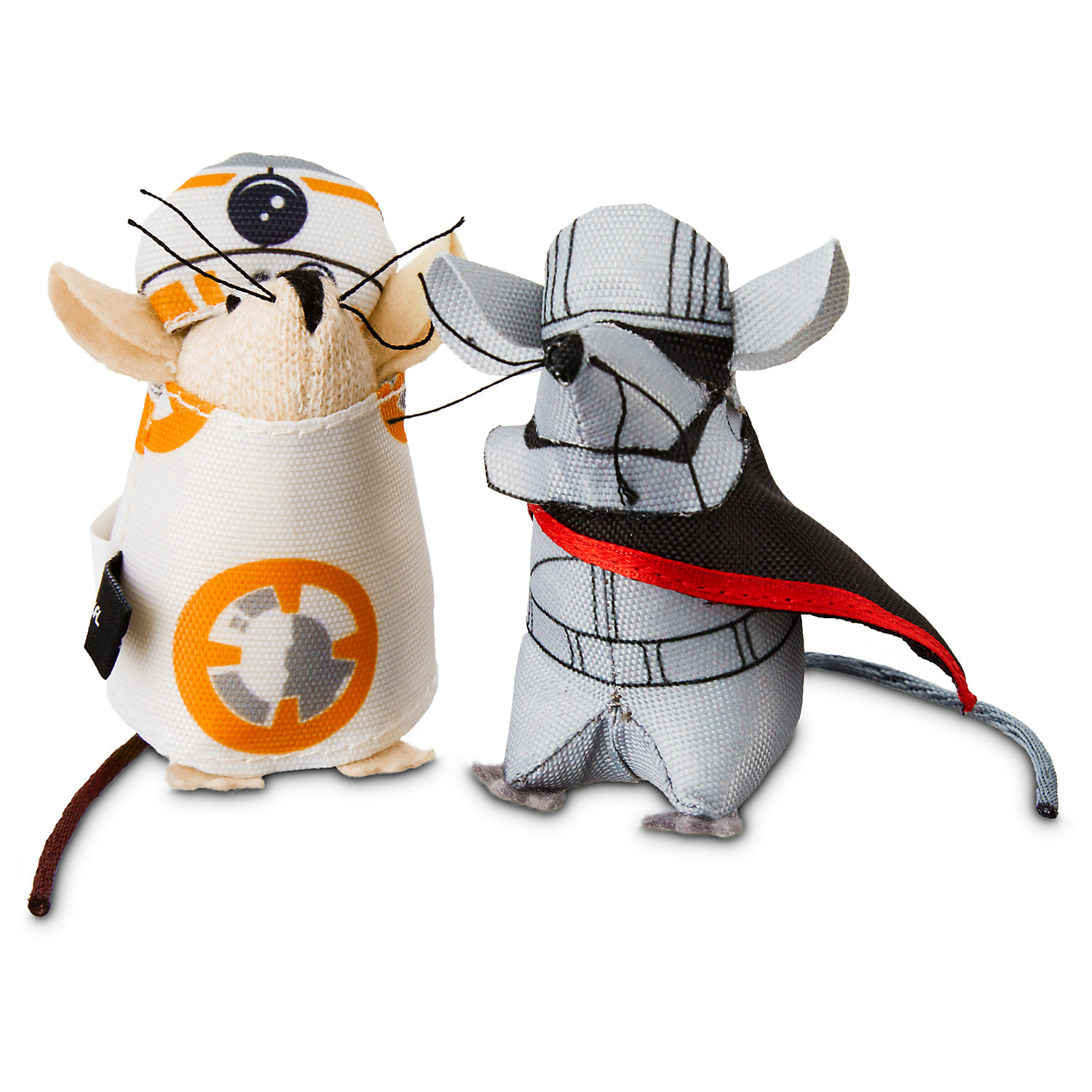 Star Wars BB-8 & Captain Phasma Mice 2-Pack, Kitty Kat, Multi-Color