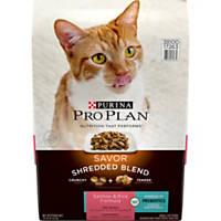 Pro Plan Savor Shredded Blend Salmon & Rice Adult Cat Food