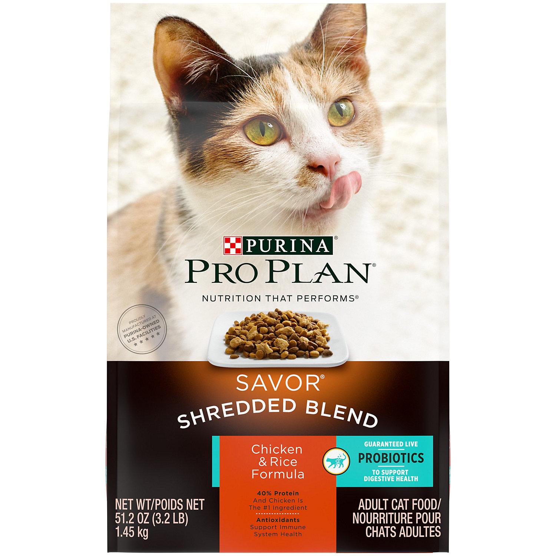 Petco Com Purina Pro Plan Adult Savor Cat Food
