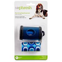 So Phresh Pick It Up Navy Dog Bag Dispenser with Refill