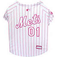 Pets First Pink New York Mets Jersey