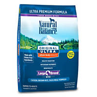 Natural Balance Original Ultra Whole Body Health Large Breed Chicken