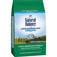 Natural Balance L.I.D. Limited Ingredient Diets Lamb & Brown Rice Puppy Food