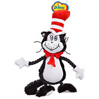 Dr. Seuss Cat In the Hat Plush Dog Toy