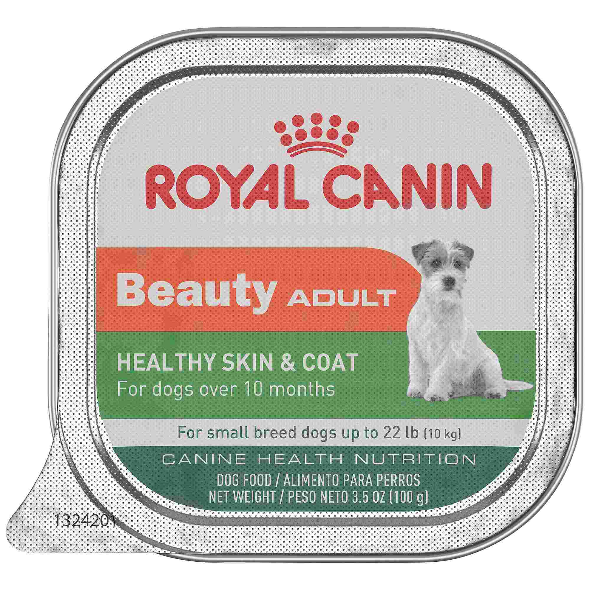 Royal Canin Beauty Canine Health Nutrition Small Breed Adult Dog Food Trays