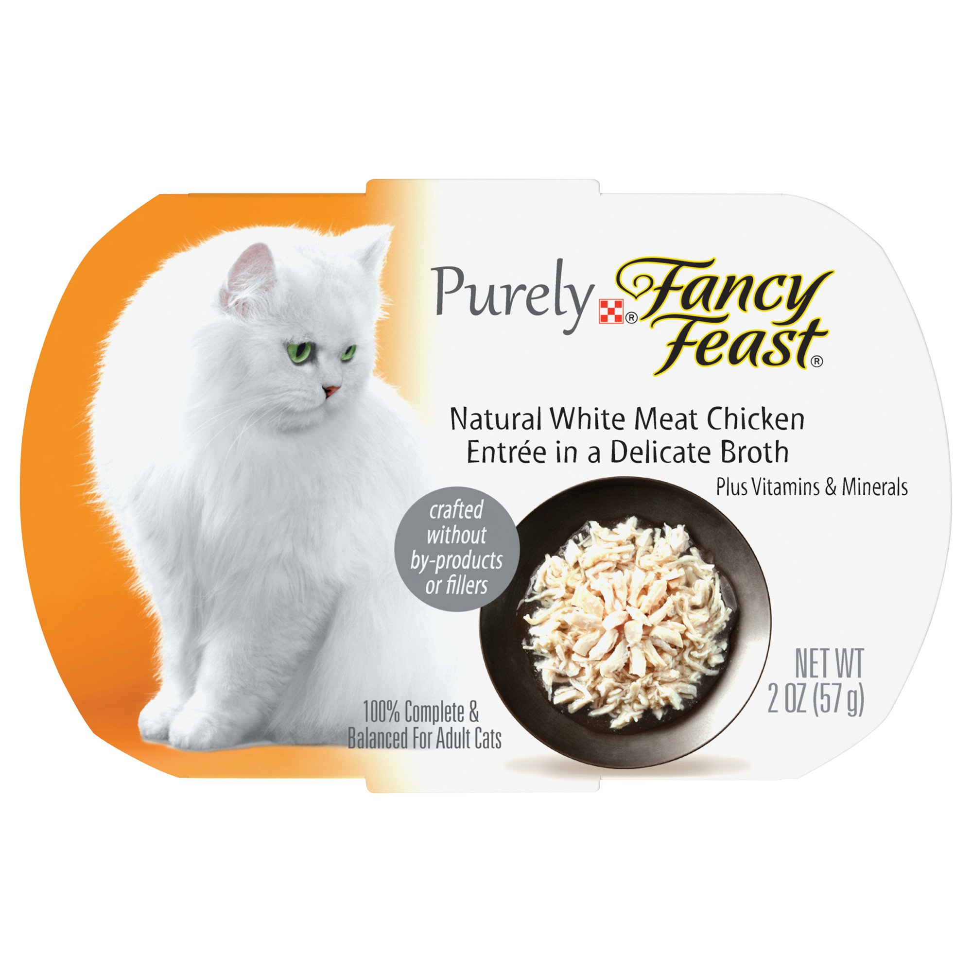 Purely Fancy Feast Adult Cat Food