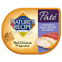 Nature's Recipe Chicken & Tuna Pate Adult Cat Food Trays