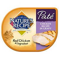 Nature's Recipe Chicken Pate Adult Cat Food Trays