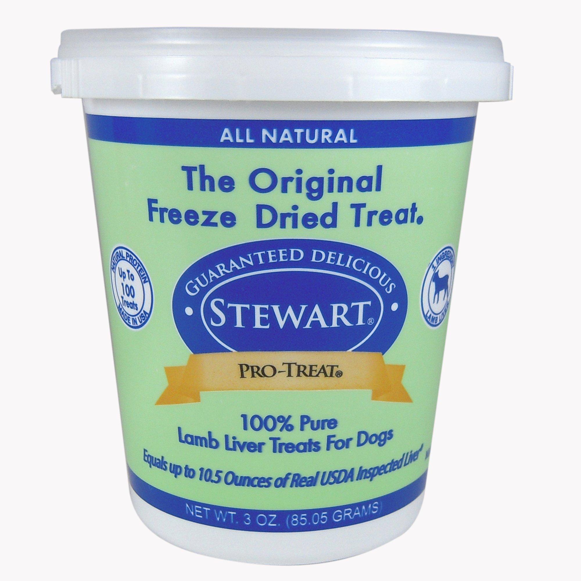 Stewart Pro-Treat Freeze Dried Lamb Liver Dog Treat
