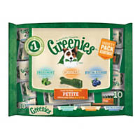 GREENIES Dental Chews  3 Flavor Variety Fun Pack  10ct Petite