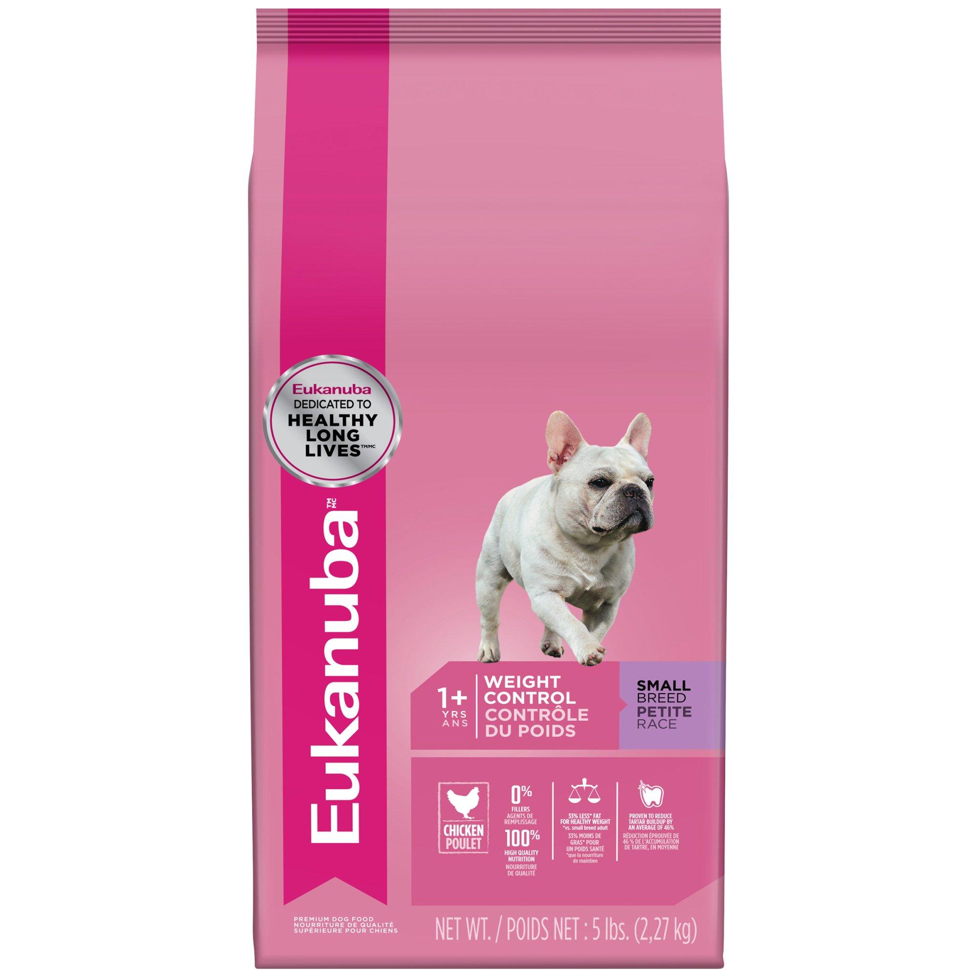 Eukanuba Small Breed Weight Control Adult Dog Food