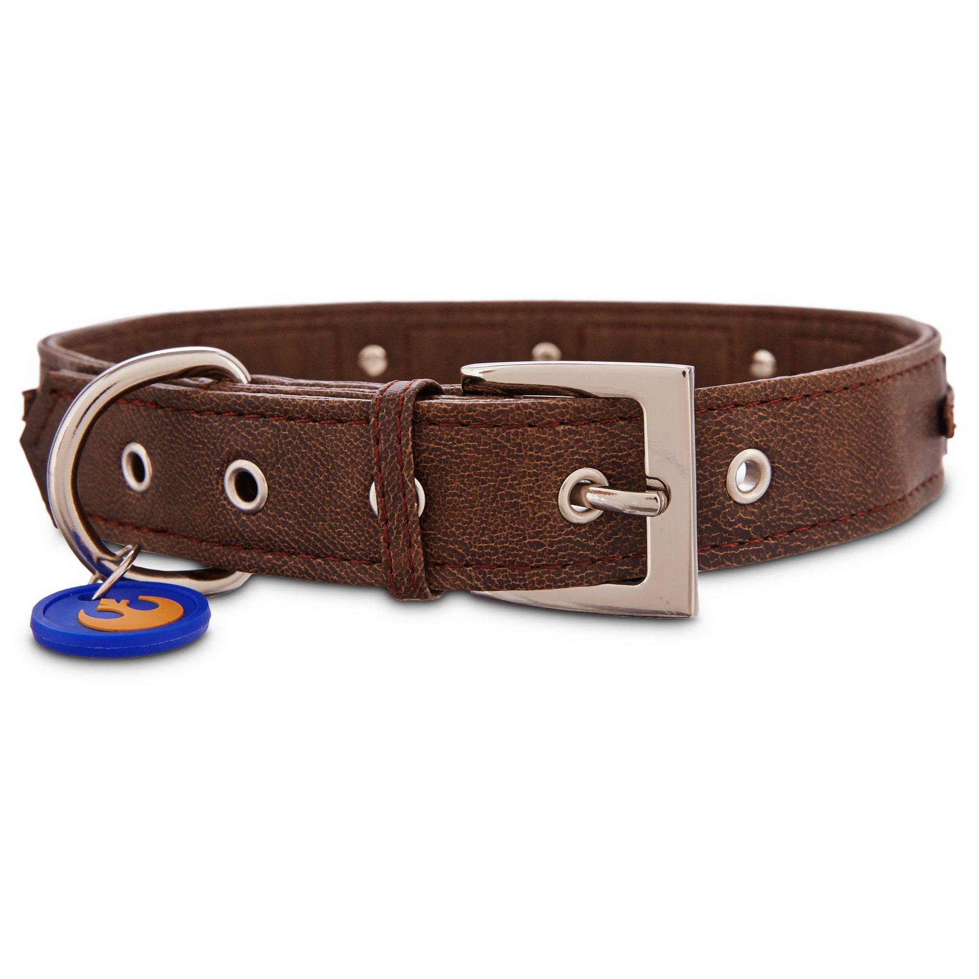 Leather Chewbacca Dog Collar