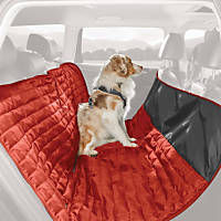 Kurgo Loft Red & Gray Reversible Hammock Dog Car Seat Cover