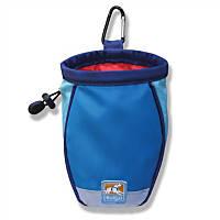 Kurgo Coastal Blue Dog Treat Bag