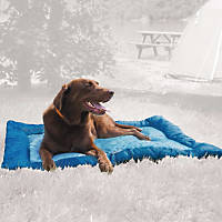 Kurgo Loft Wander Blue Travel Dog Bed