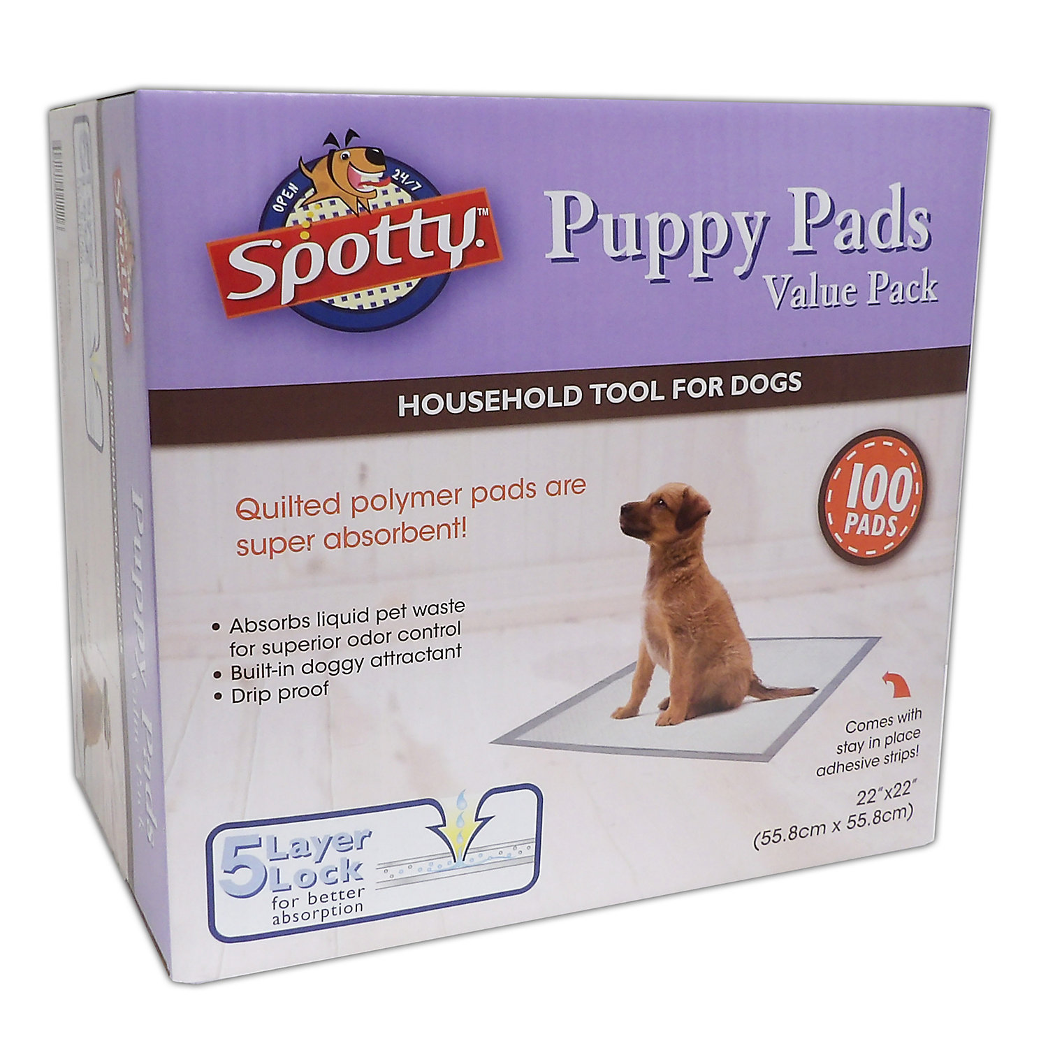 Spotty 100ct Puppy Pads