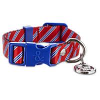 Bond & Co. Red Tie Collar