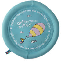 Dr. Seuss Oh! The Places You'll Go! Flying Disc Toy