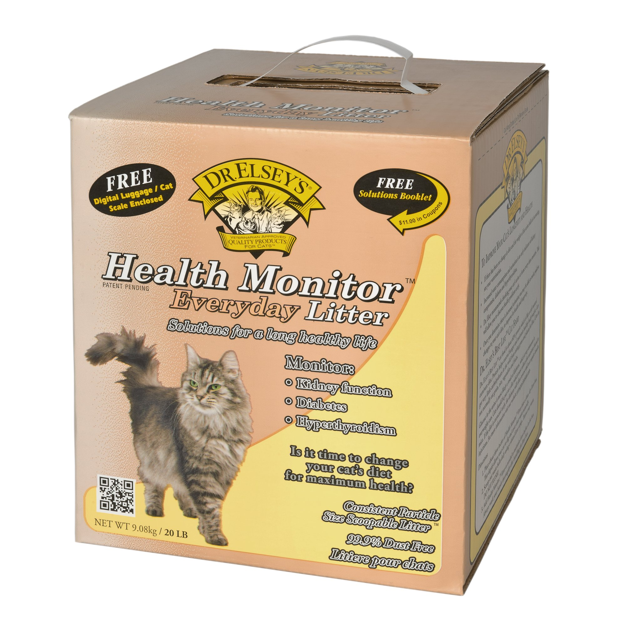 Precious Cat Dr. Elsey's Health Monitor Everday Cat Litter