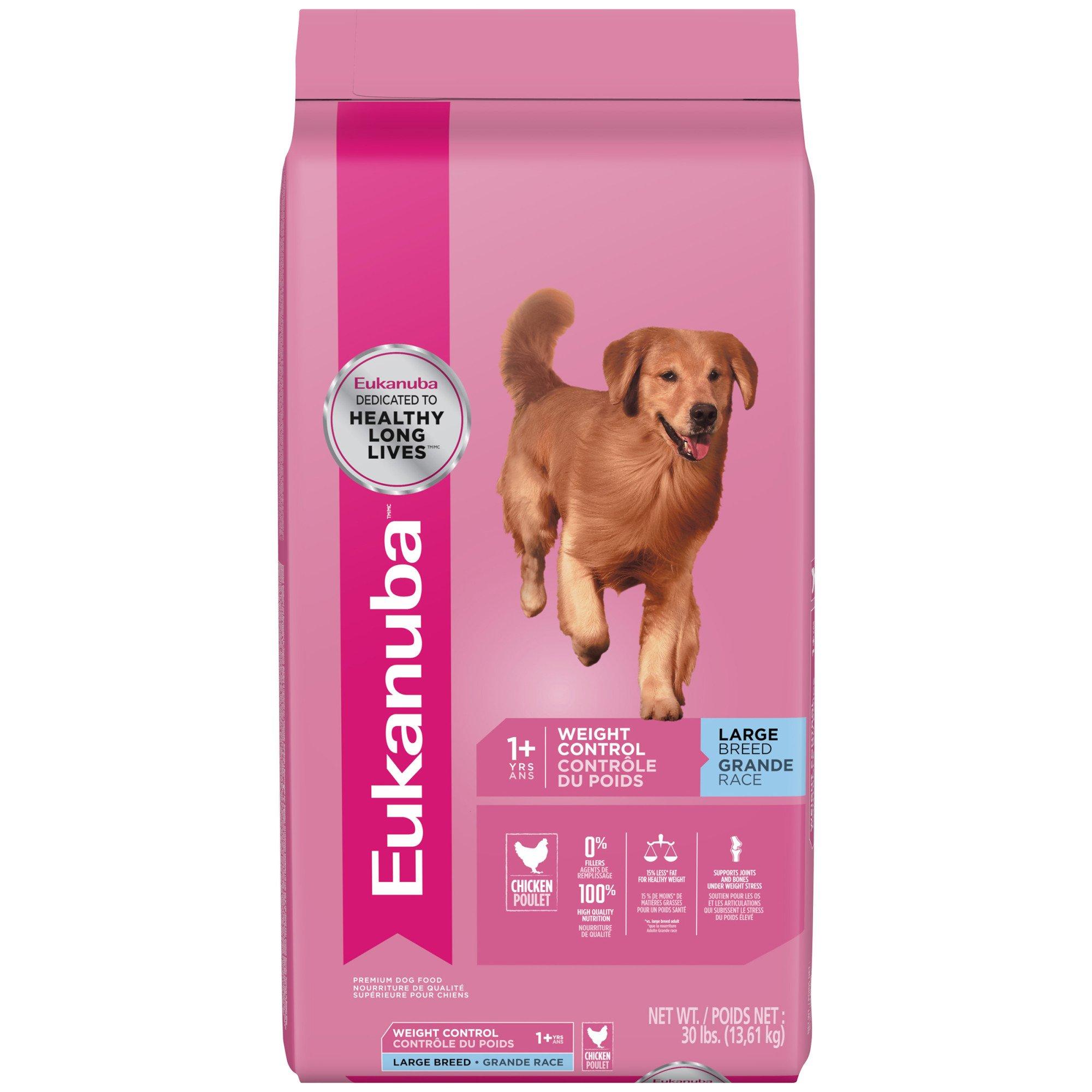 Eukanuba Large Breed Weight Control Adult Dog Food