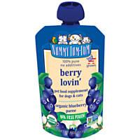 Nummy Tum Tum Dog Food Pouch Berry Lovin