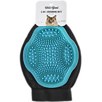 Well & Good 3-in-1 Groom Glove for Cats