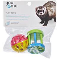 You & Me Ferret Fun Ball/ Wagon Wheel