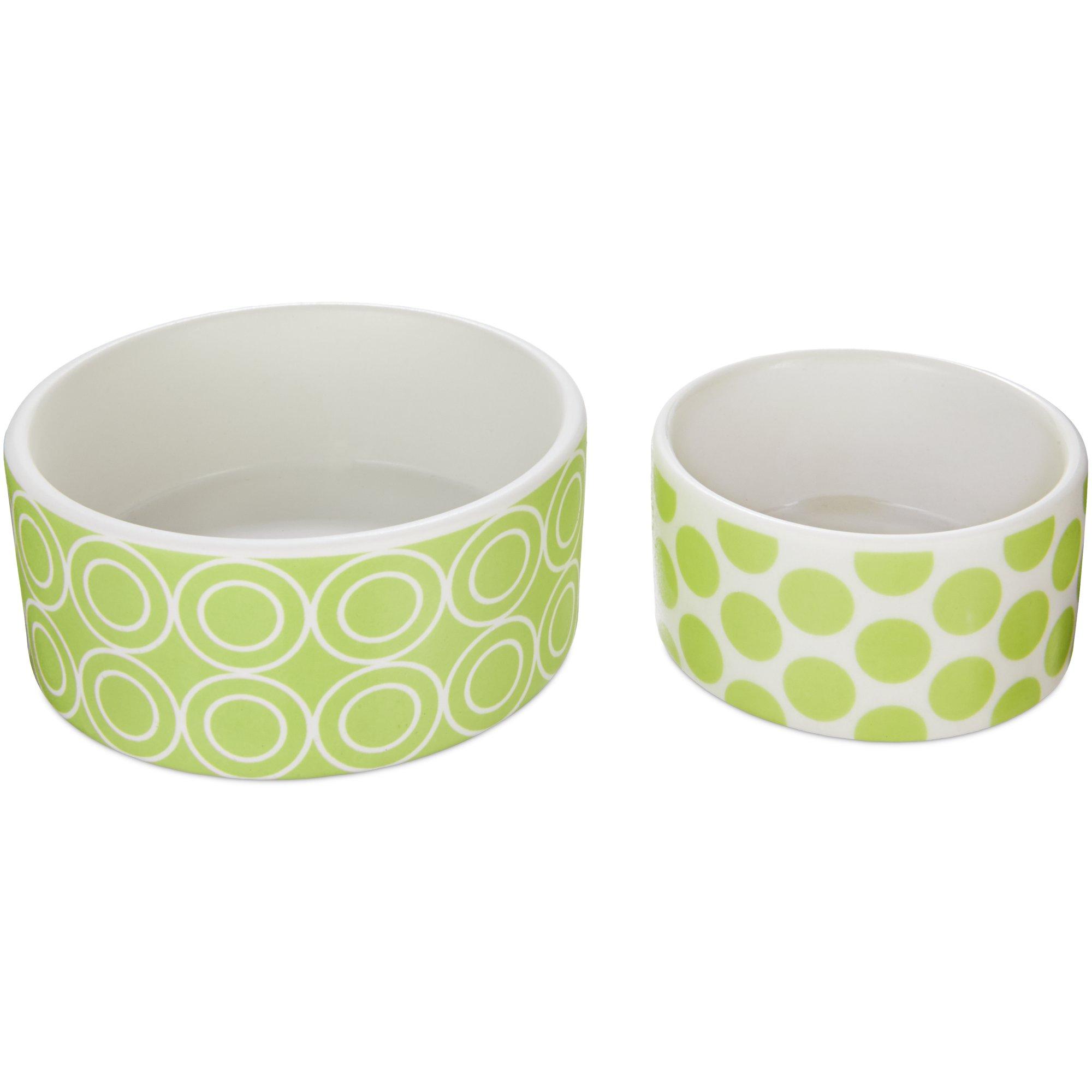 You & Me Ceramic Bowl, 2 Pack