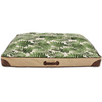 You & Me Tropical Rectangle Dog Bed