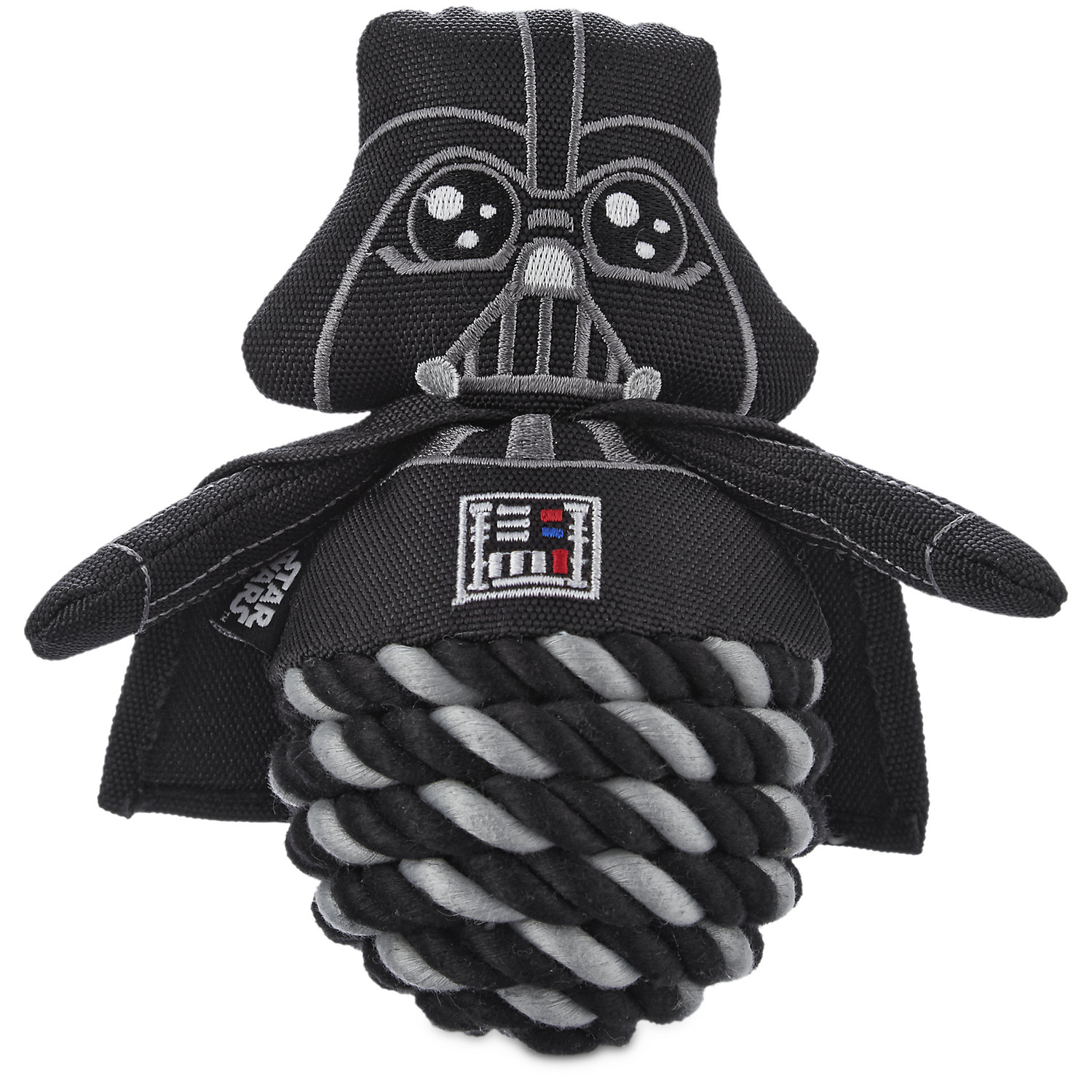 STAR WARS Darth Vader Rope Ball Dog Toy, 6