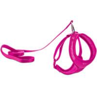 Good2Go Pink Mesh Cat Harness & Lead Set