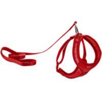 Good2Go Red Mesh Cat Harness & Lead Set