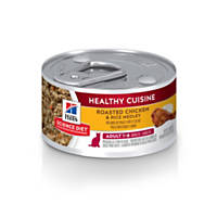 Hill's Science Diet Adult Healthy Cuisine Roasted Chicken & Rice Medley Cat Food