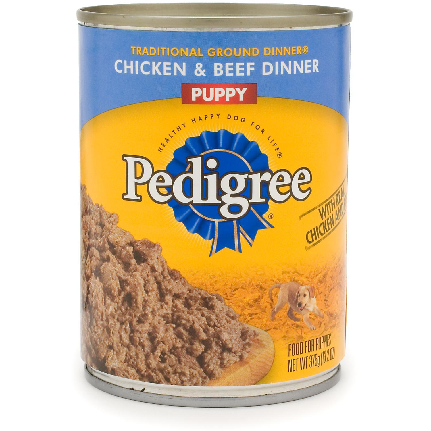 Pedigree Traditional Ground Dinner Chicken & Beef Canned Puppy Food