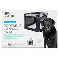 You & Me Portable Canvas Crate