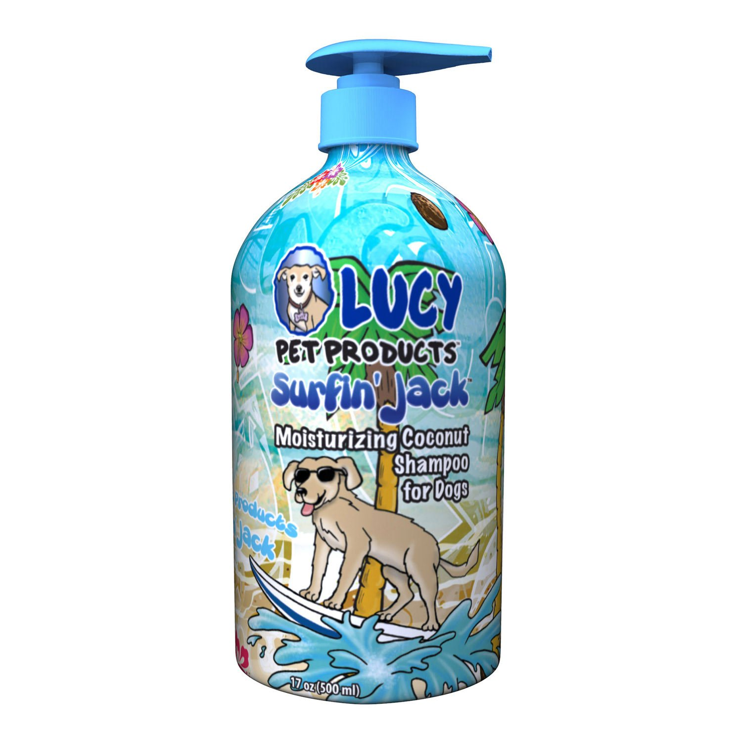 Lucy Pet Products Surfin  Jack Coconut Dog Shampoo