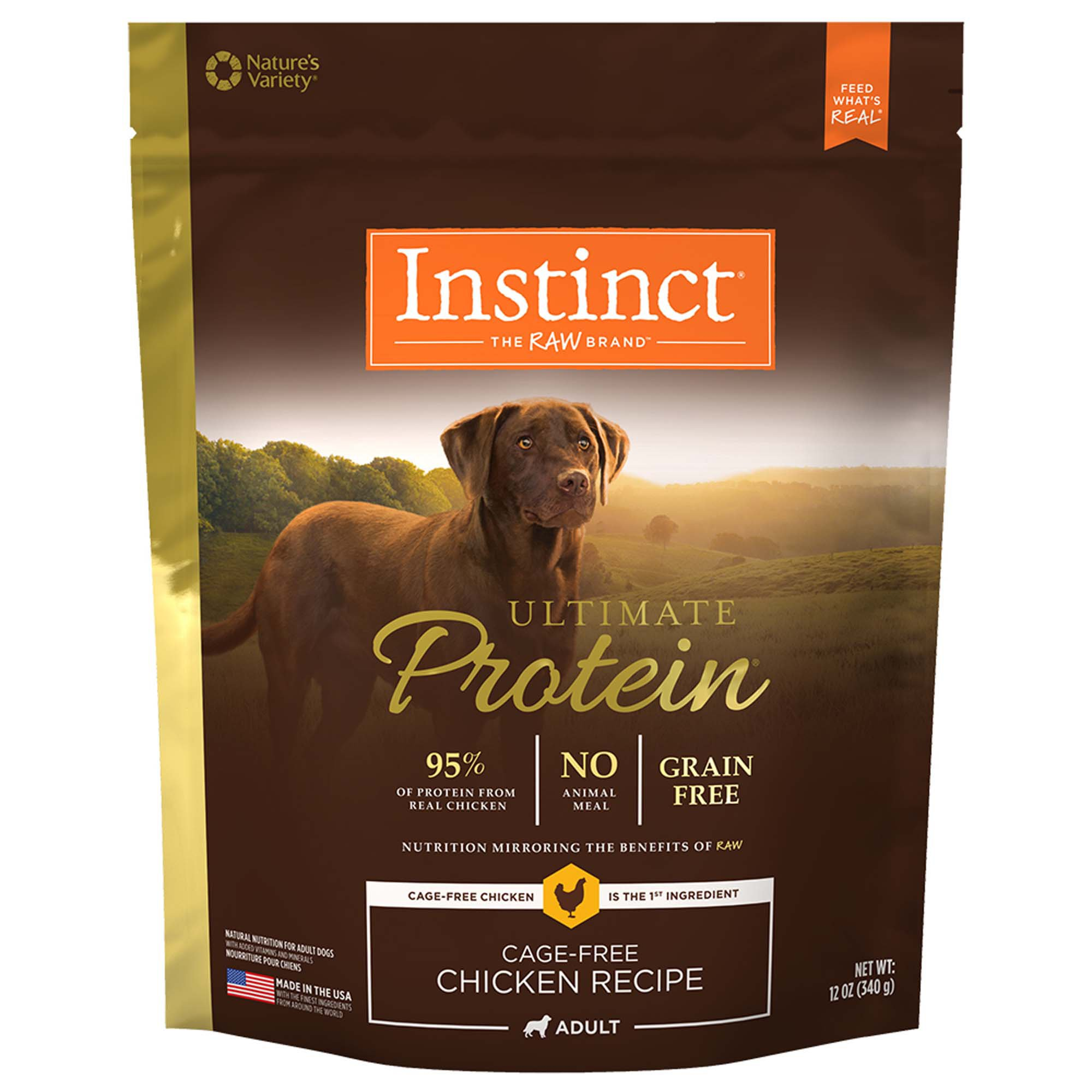 Nature's Variety Instinct Ultimate Protein Chicken Dog Food