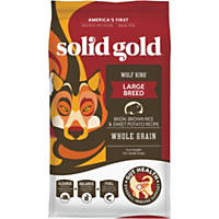Solid Gold Wolf King Bison, Brown Rice & Sweet Potatoes Adult Dog Food