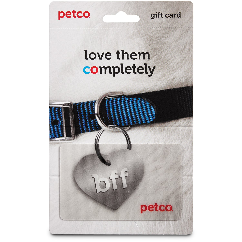 Petco BFF ID Tag Gift Card