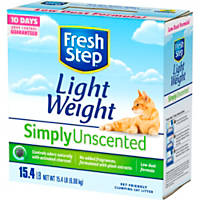 Fresh Step Lightweight Unscented Multi Cat Scoopable Clumping Cat Litter