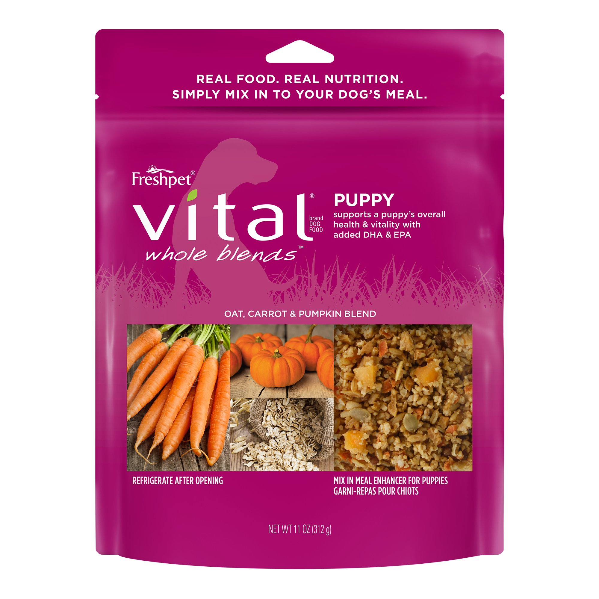 Freshpet Vital Whole Blends Puppy Dog Food