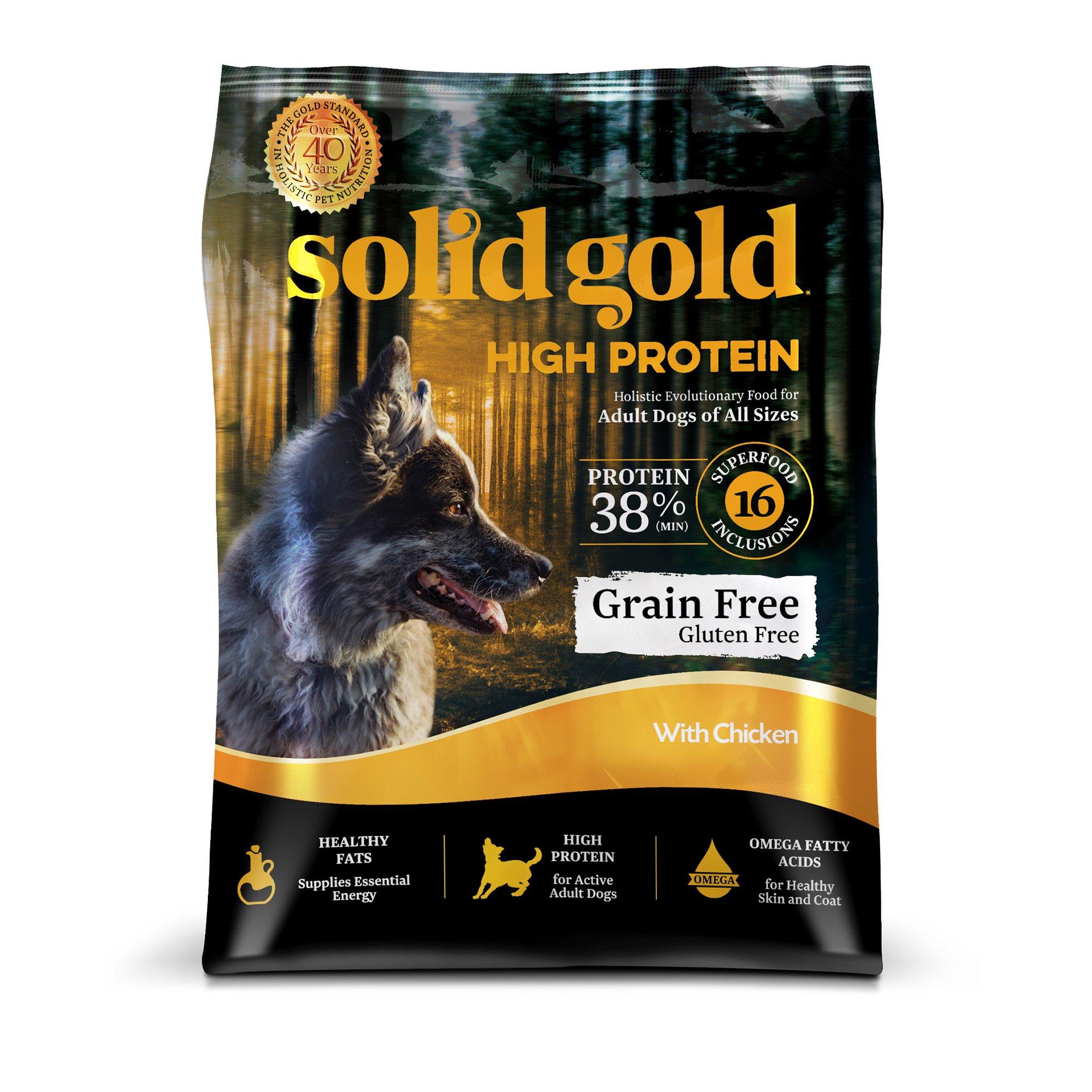 Solid Gold High Protein Chicken Dog Food
