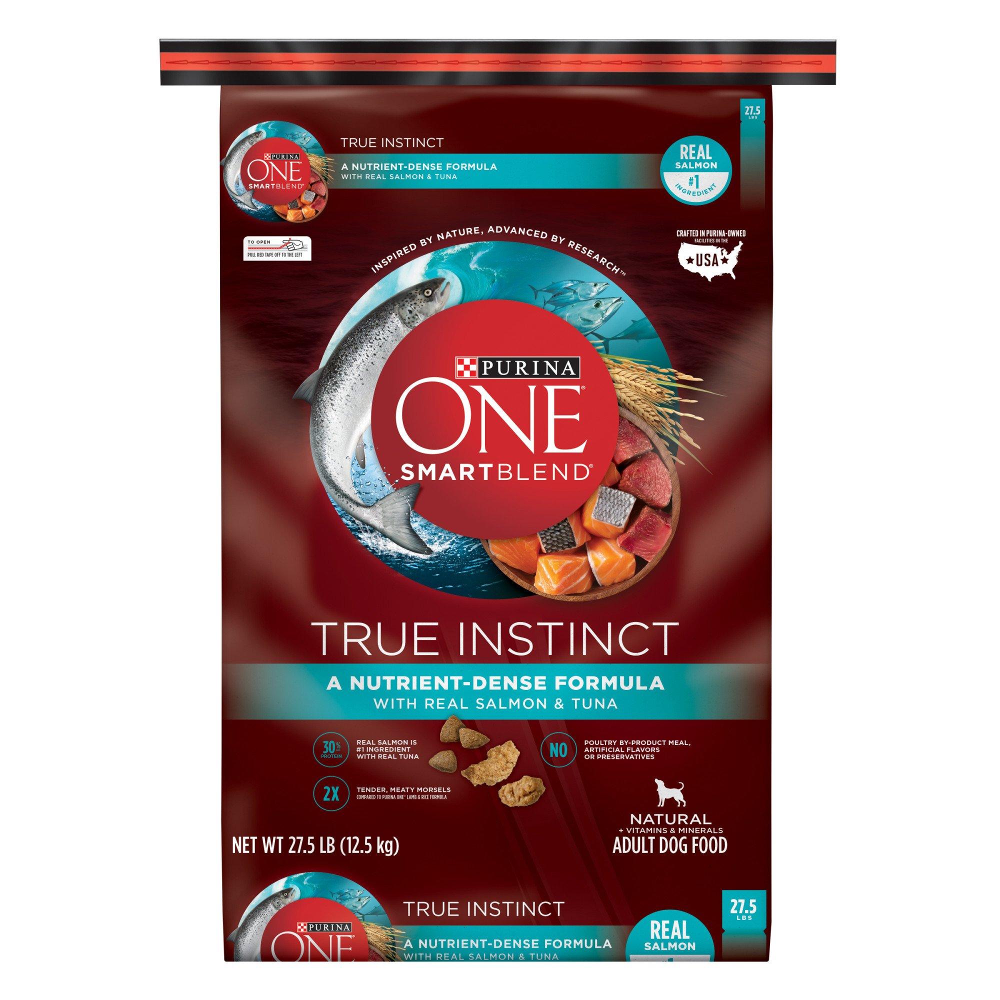 ONE True Instinct Salmon and Tuna Adult Dog Food
