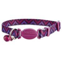 Good2Go Adjustable Purple Aztec Print Cat Collar