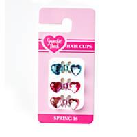 Smoochie Pooch Heart Hairclip