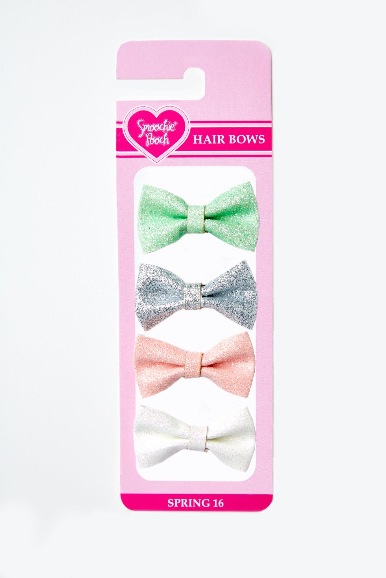 Smoochie Pooch Glitter Loopy Bows