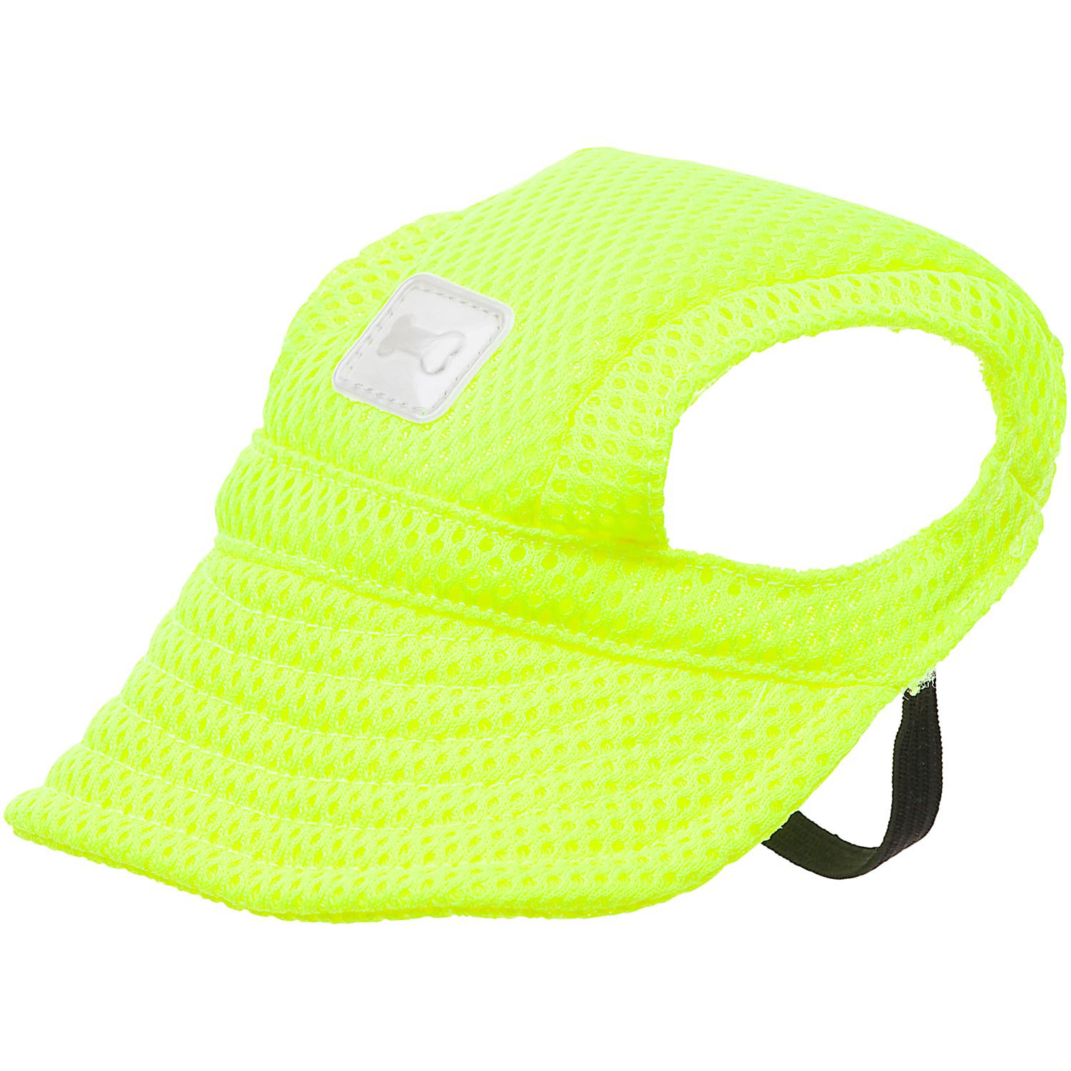 Wag-A-Tude Yellow Reflective Pet Hat