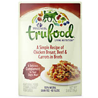 Wellness TruFood Complements Natural Chicken, Beef & Carrots Dog Food Cups