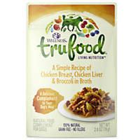 Wellness TruFood Complements Natural Chicken & Broccoli Dog Food Cups