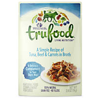 Wellness TruFood Complements Natural Tuna, Beef & Carrots Dog Food Cups